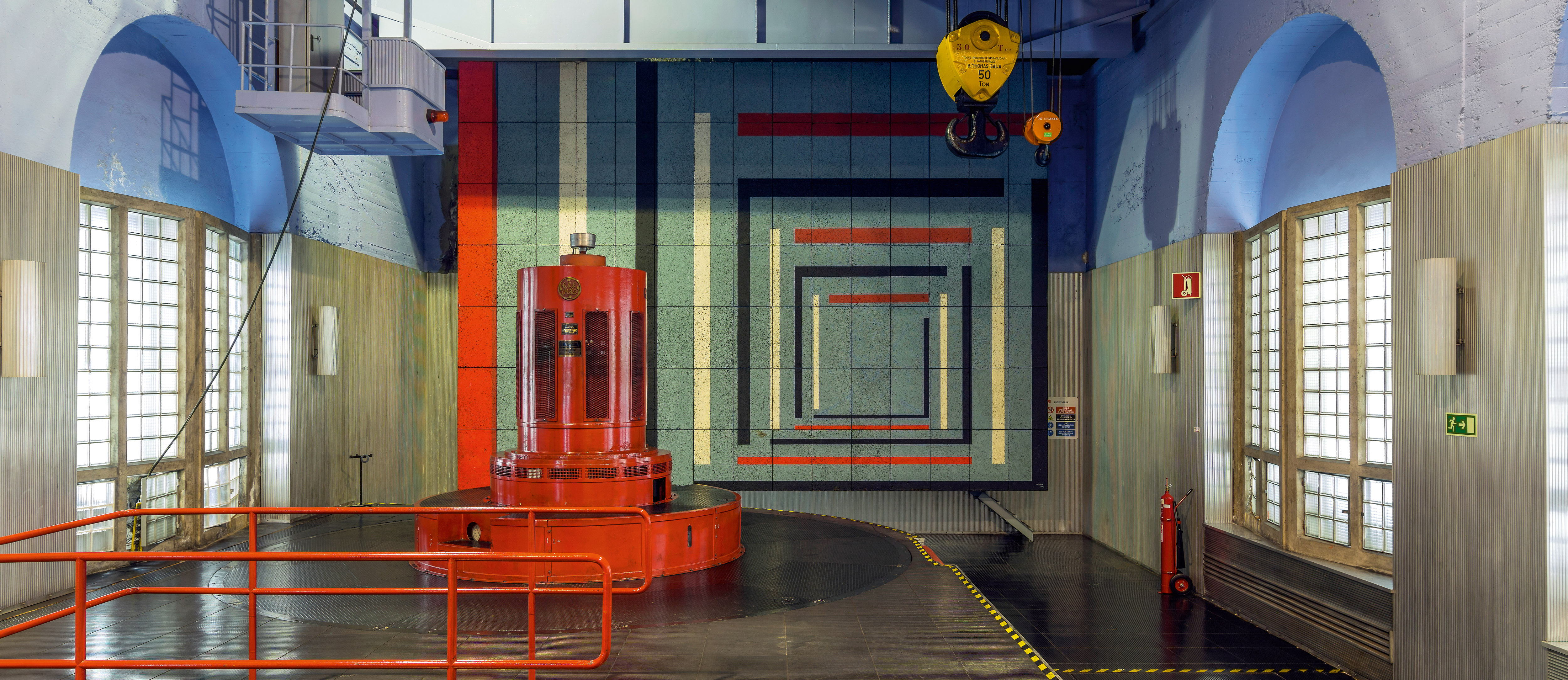 Hydroelectric Power Station of Miranda