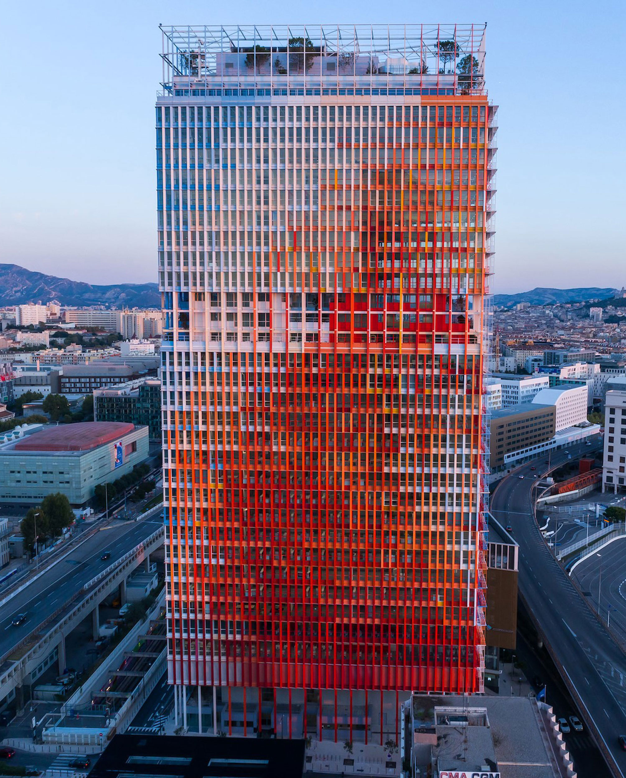 Office Tower in Marseilles