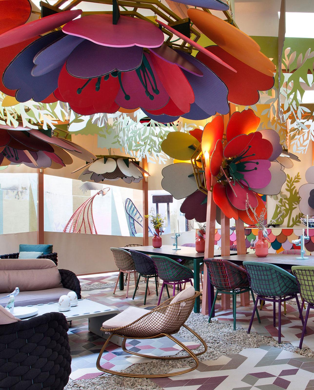 Sunbrella space at Casa Decor
