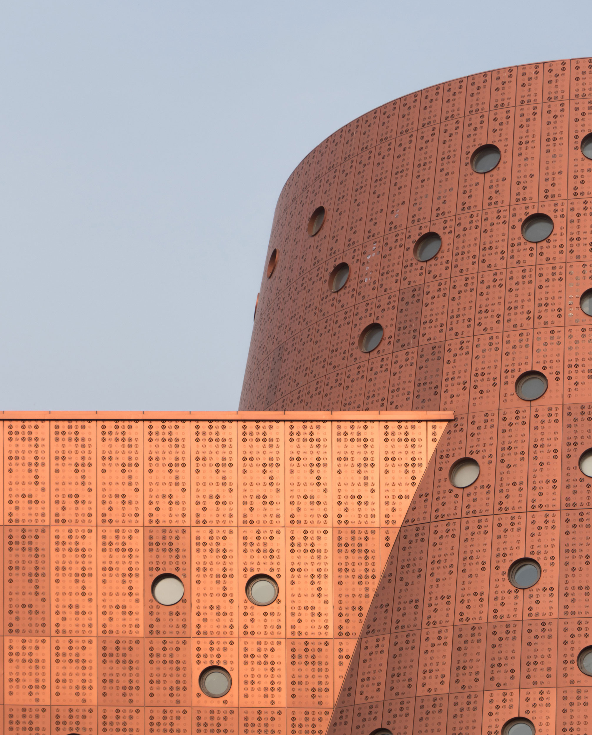 Exploratorium museum in Tianjin