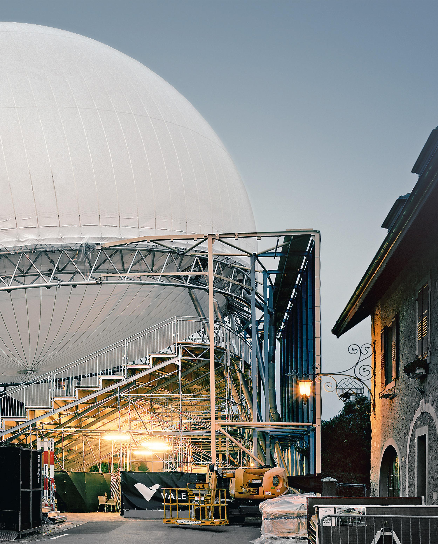 Pavilion for the Luna St. Prex Festival