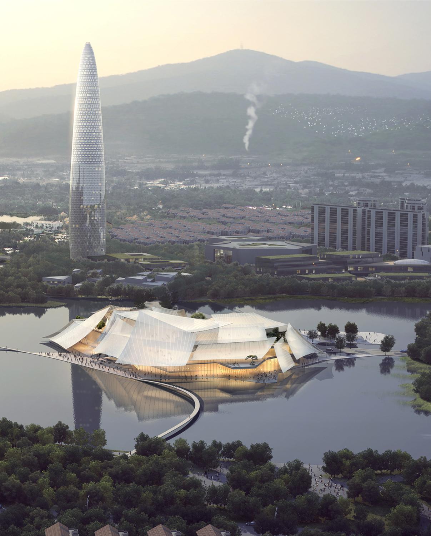 Yiwu Grand Theater, Yiwu