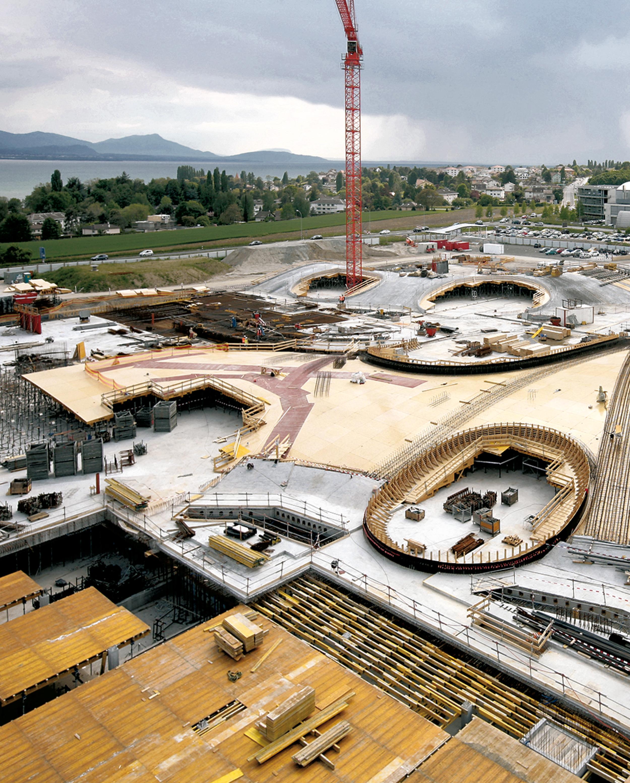 EPFL Rolex Learning Center (under construction)