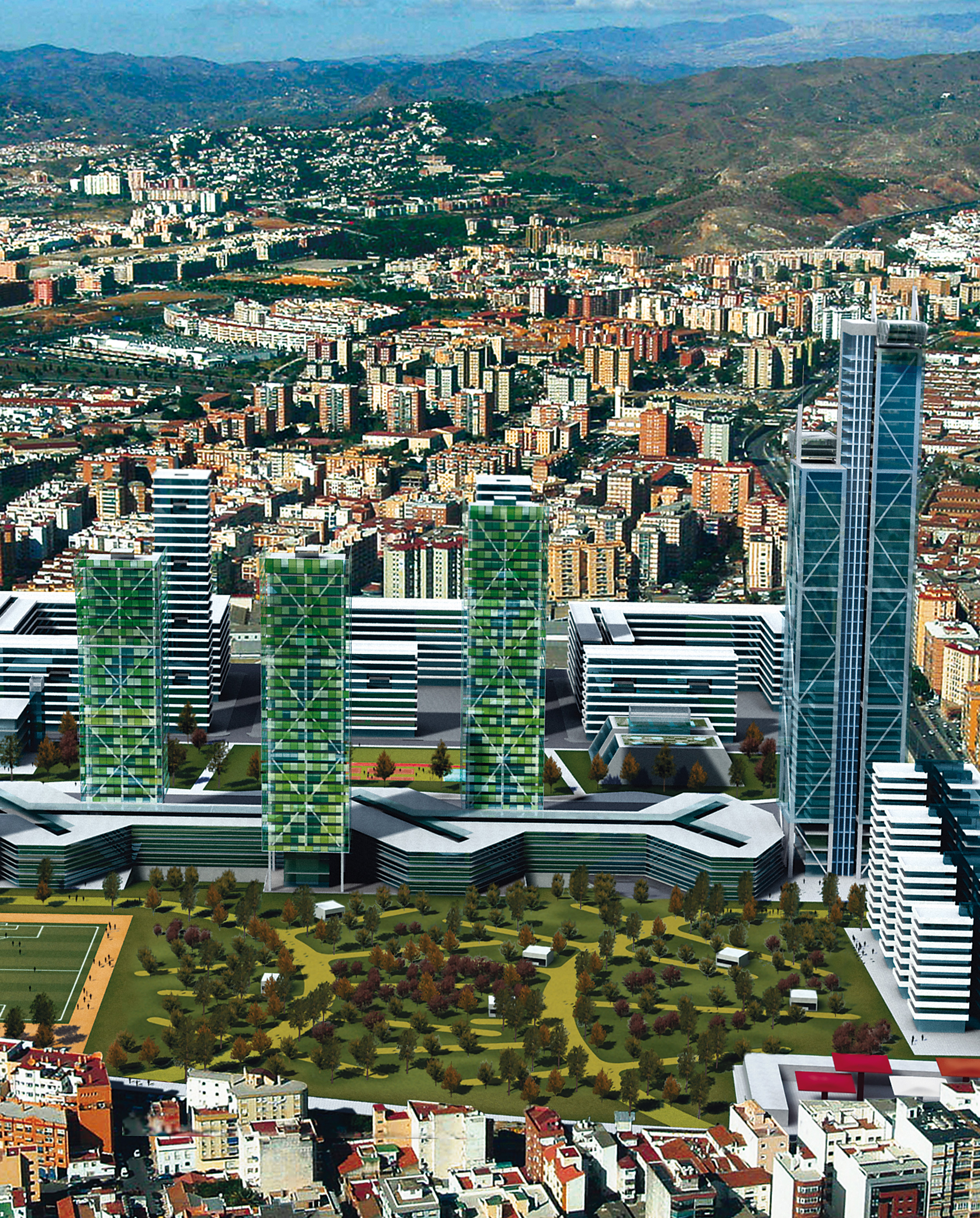 Management of the Old Lands of Repsol, Málaga