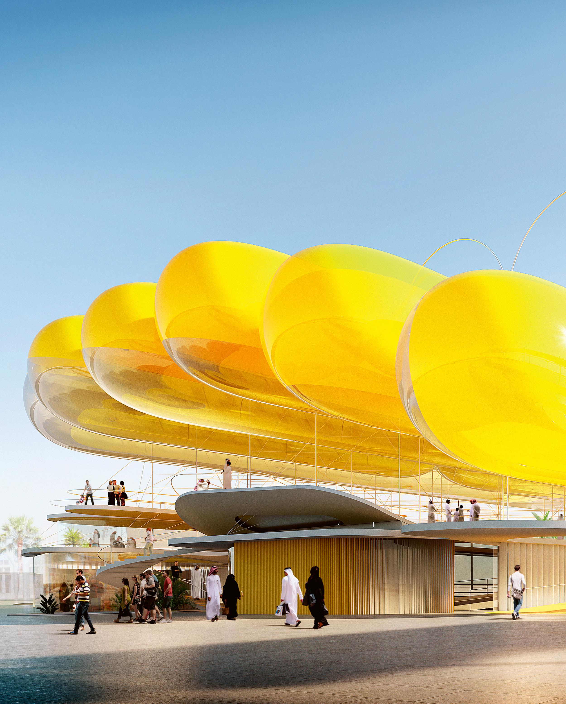 Spanish Pavilion at Expo 2020, Selgascano + FRPO