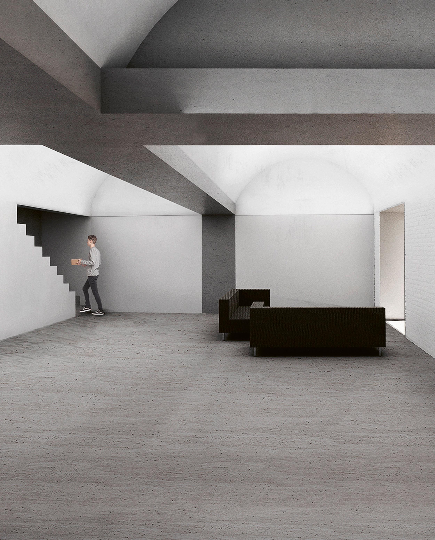 9 Bóvedas House, Villanueva de la Serena (project stage)