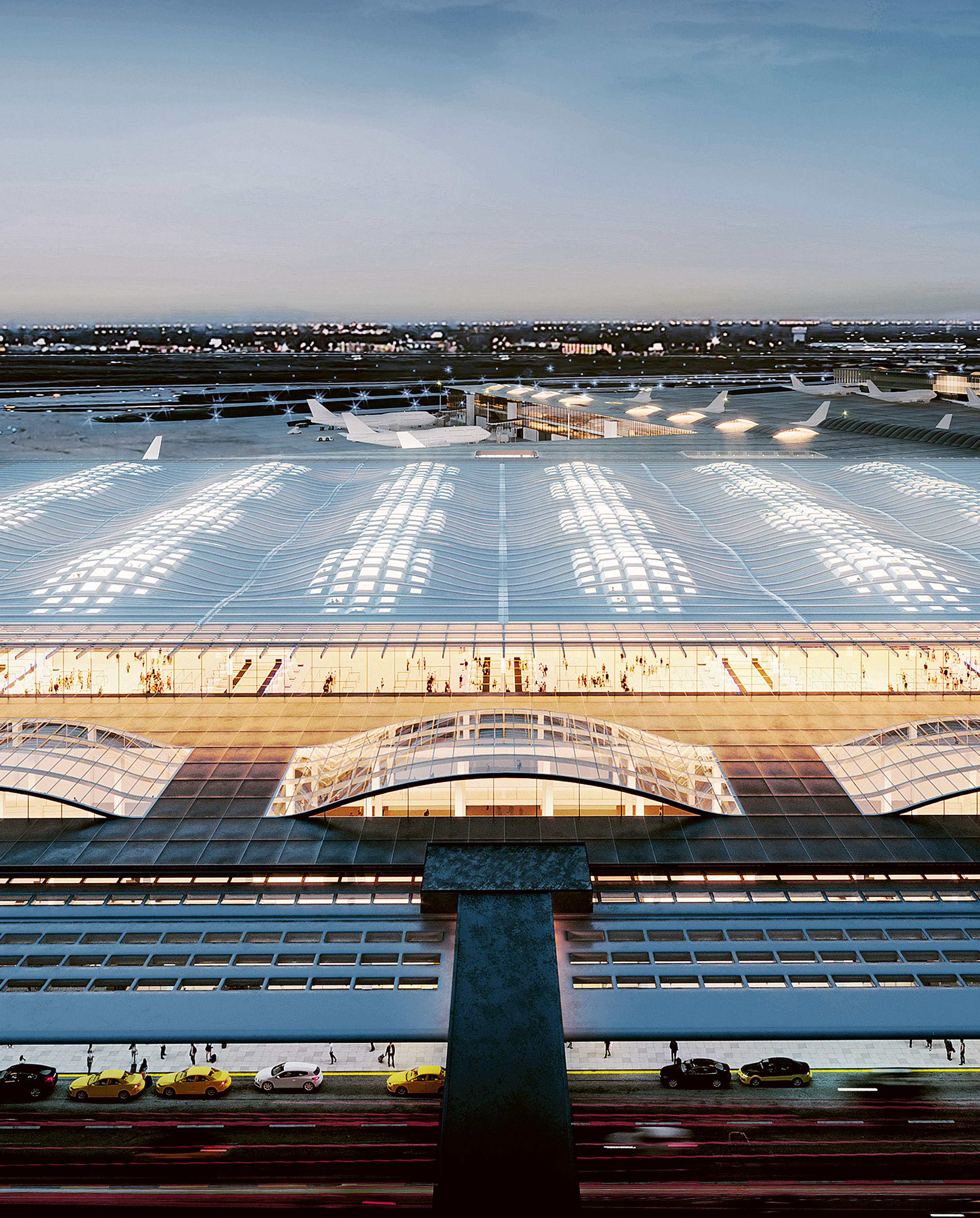 O'Hare International Airport Expansion, SOM