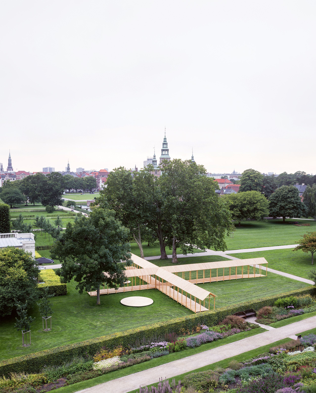King's Garden Pavilion, Copenhagen