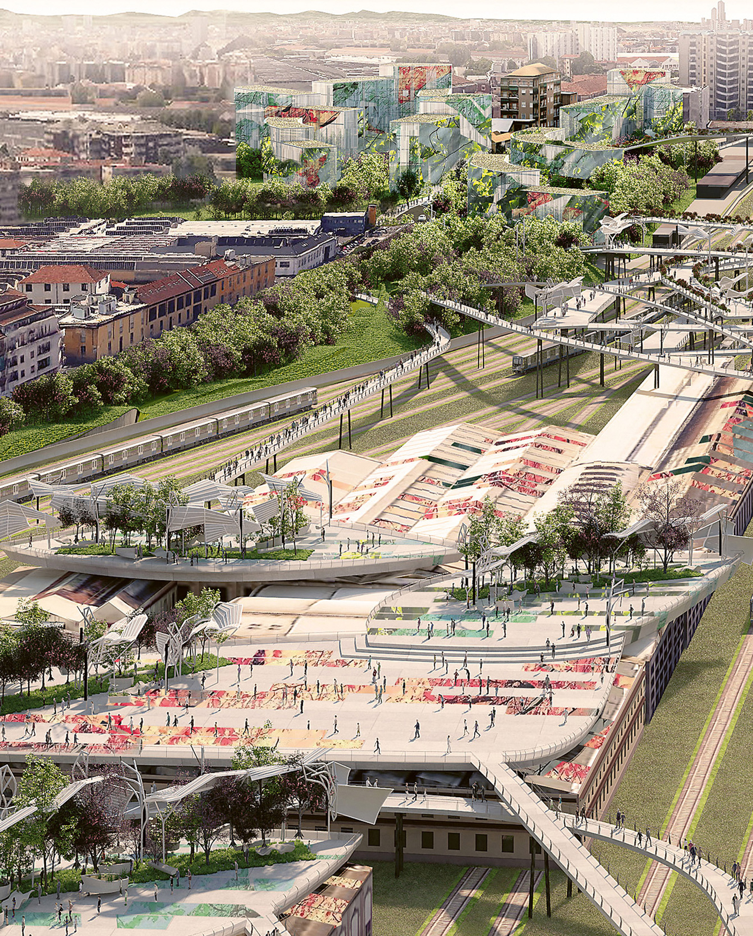 A new vision for Milan's disused railway yards, Milan