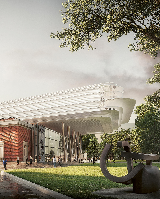 Bilbao Fine Arts Museum Extension, Foster + Partners