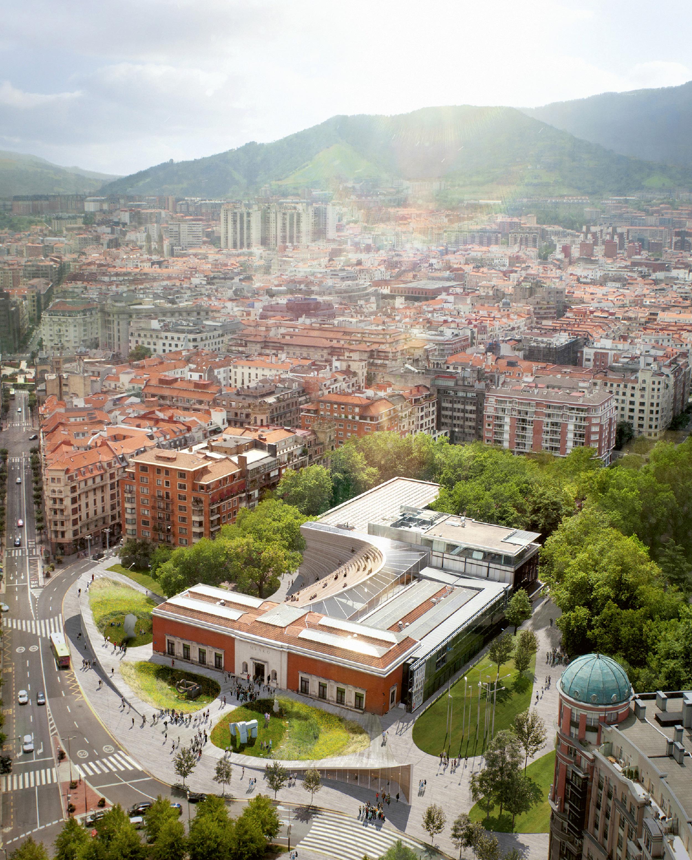 Bilbao Fine Arts Museum Extension, BIG