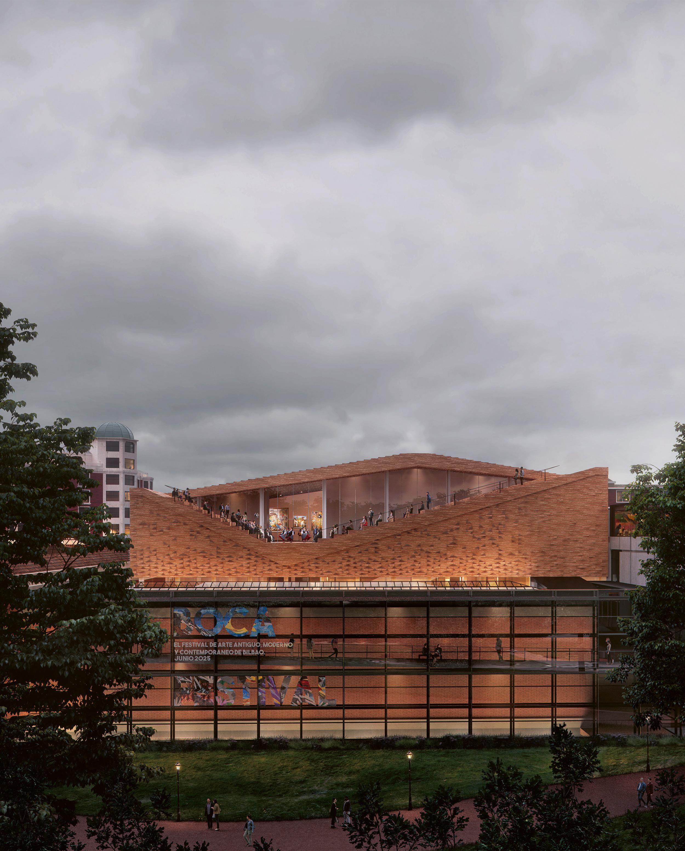 Bilbao Fine Arts Museum Extension, Snøhetta