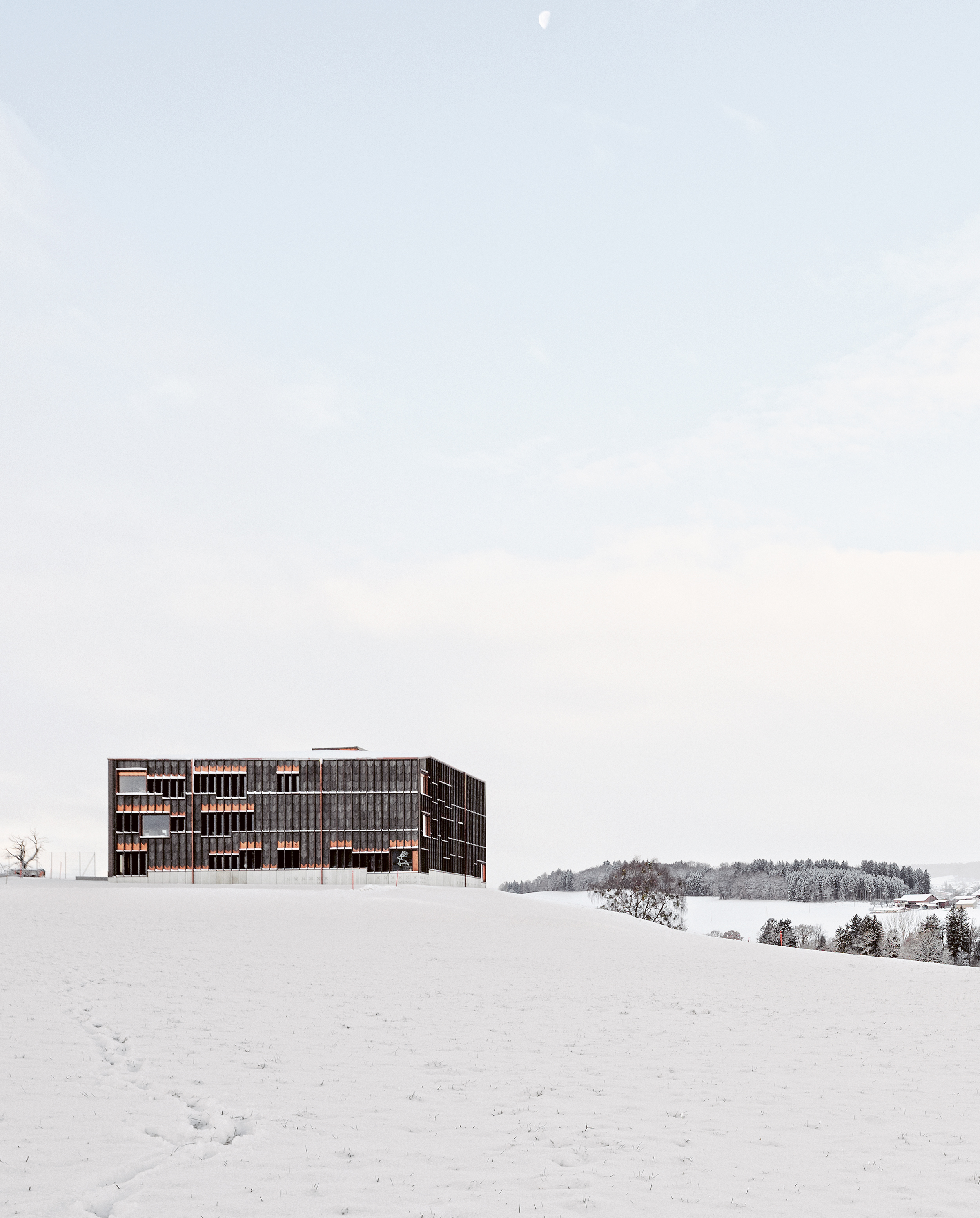 School in Orsonnens, Fribourg