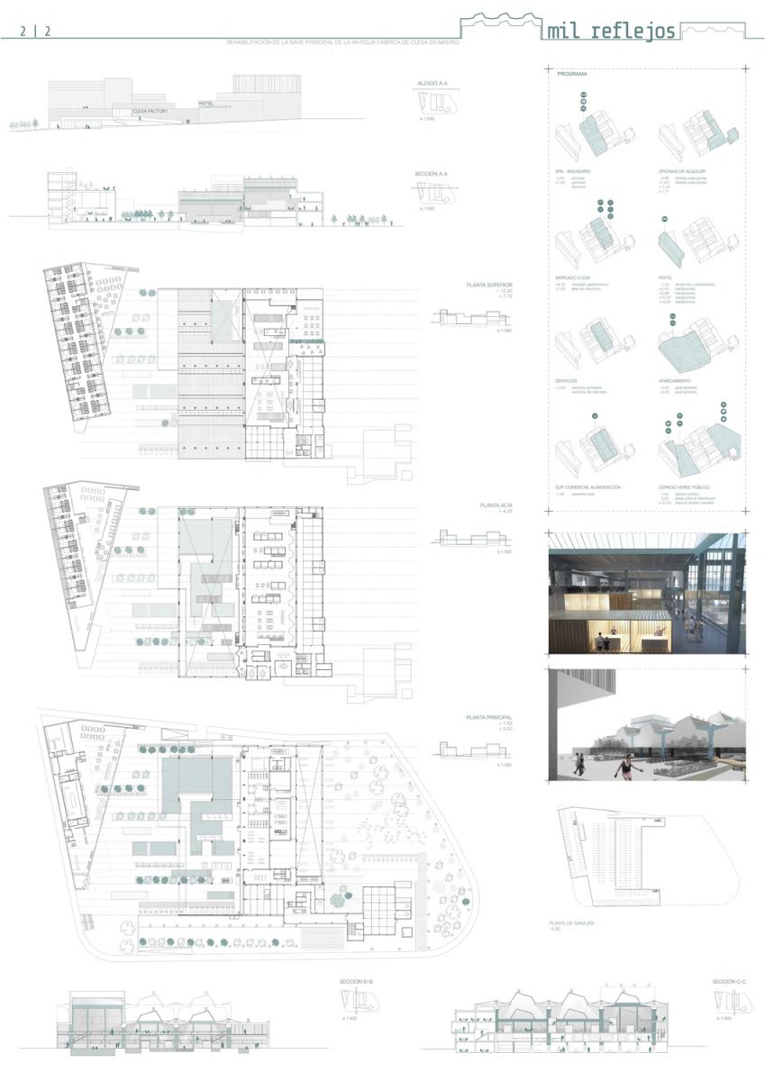 Winners of ideas competition for renovation of old Clesa