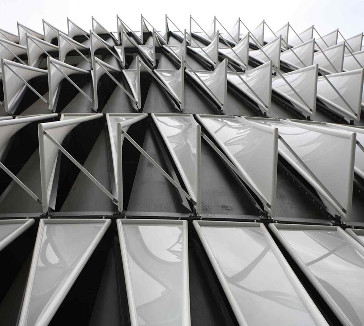 ETFE y fachadas textiles de IASO