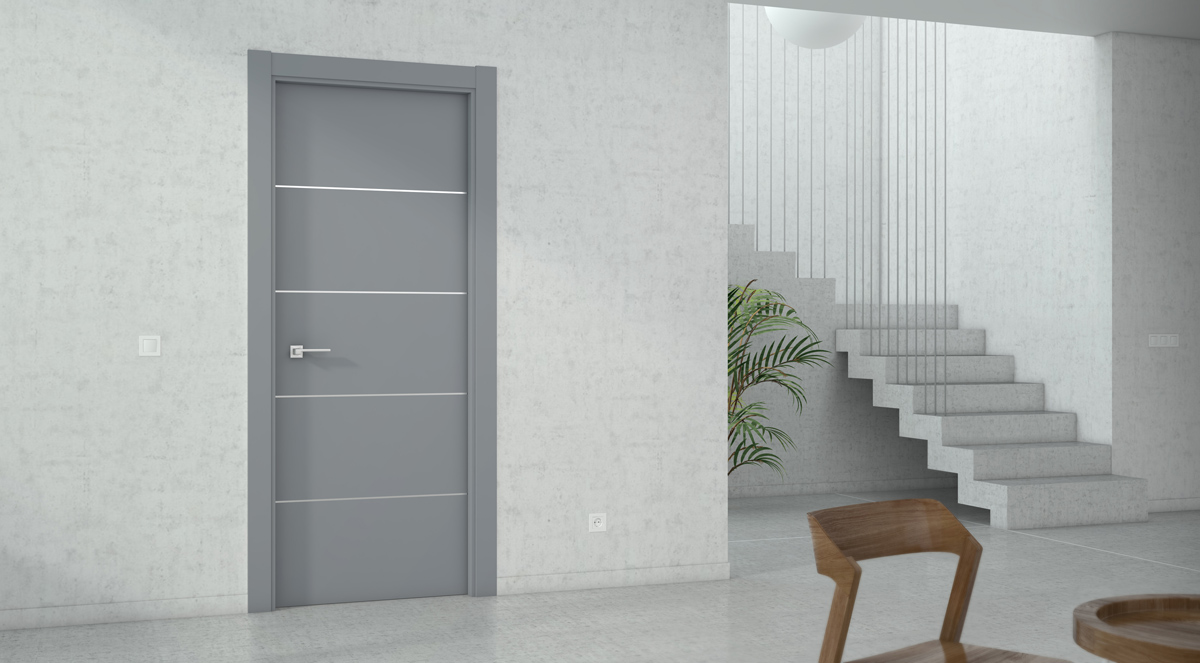 Aluminum doors from Strugal