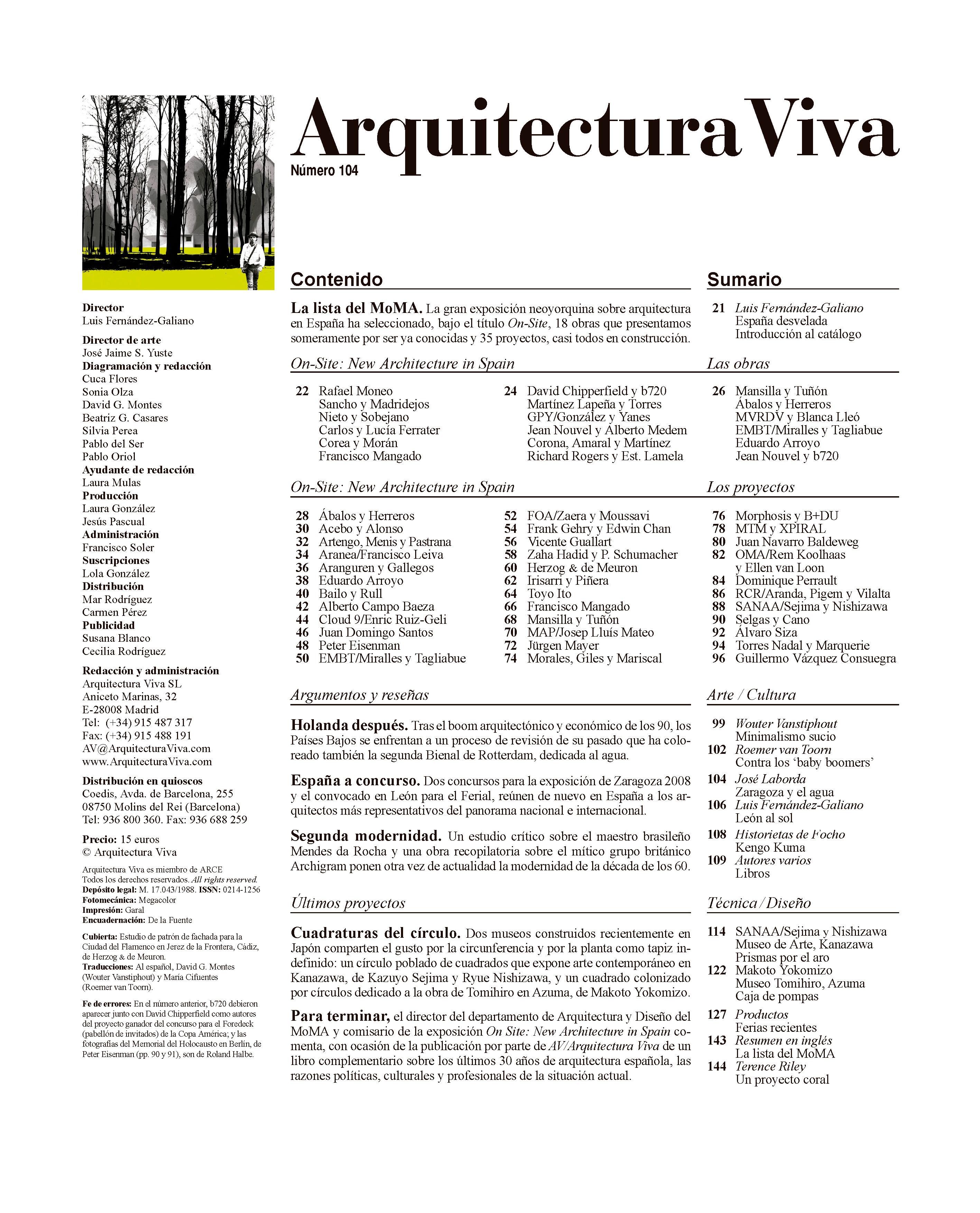 La lista del MoMA
