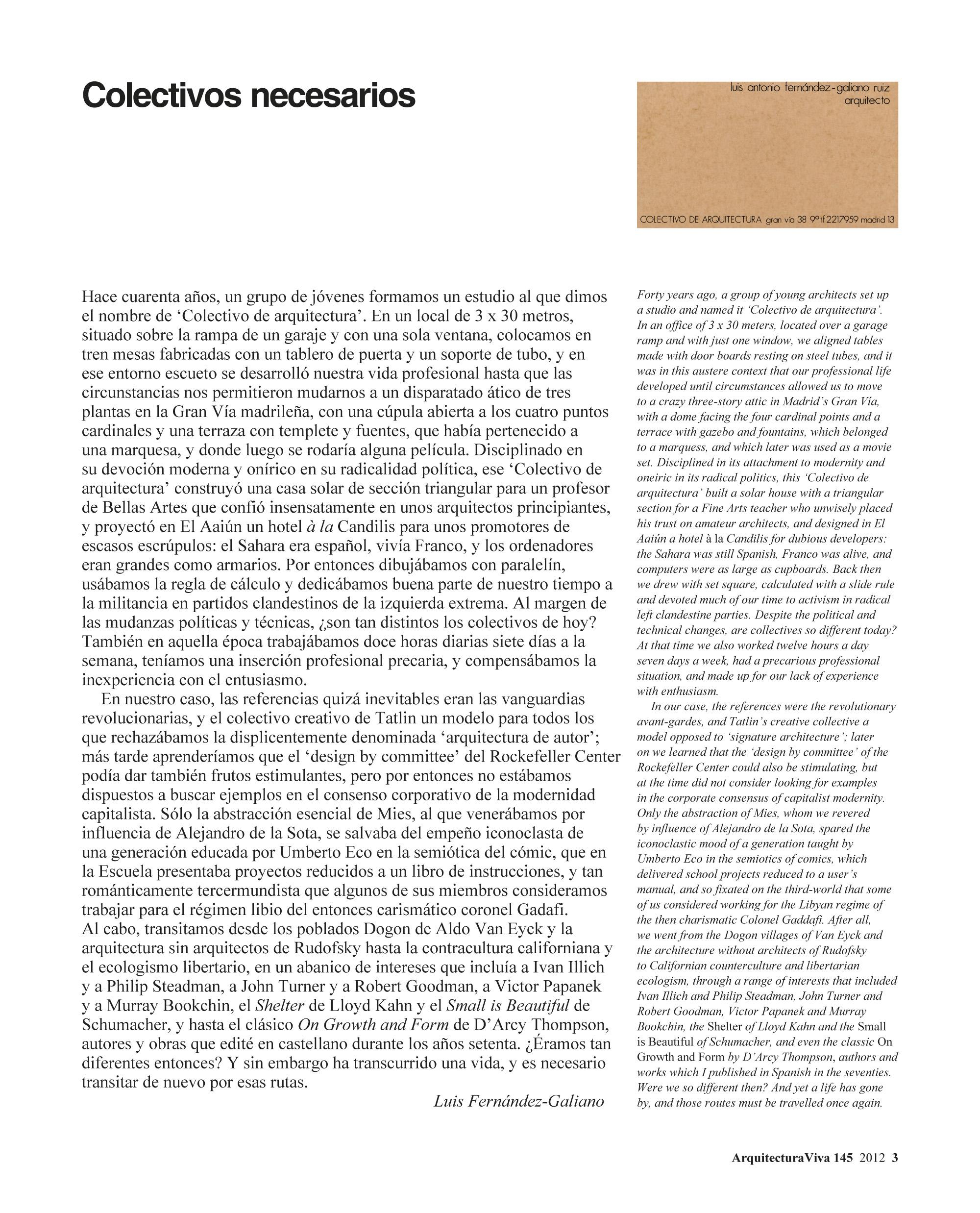 Colectivos Españoles
