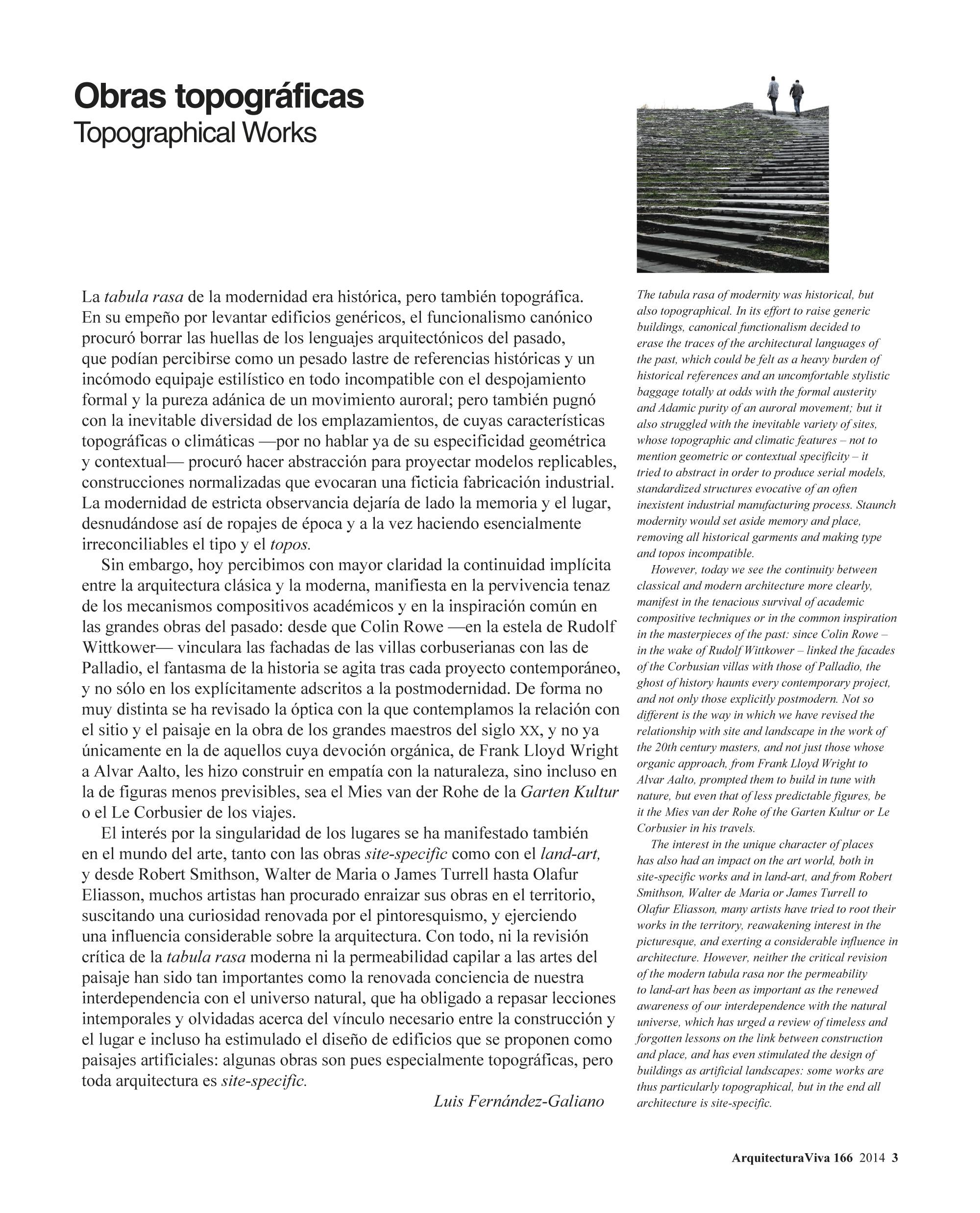 Obras topográficas
