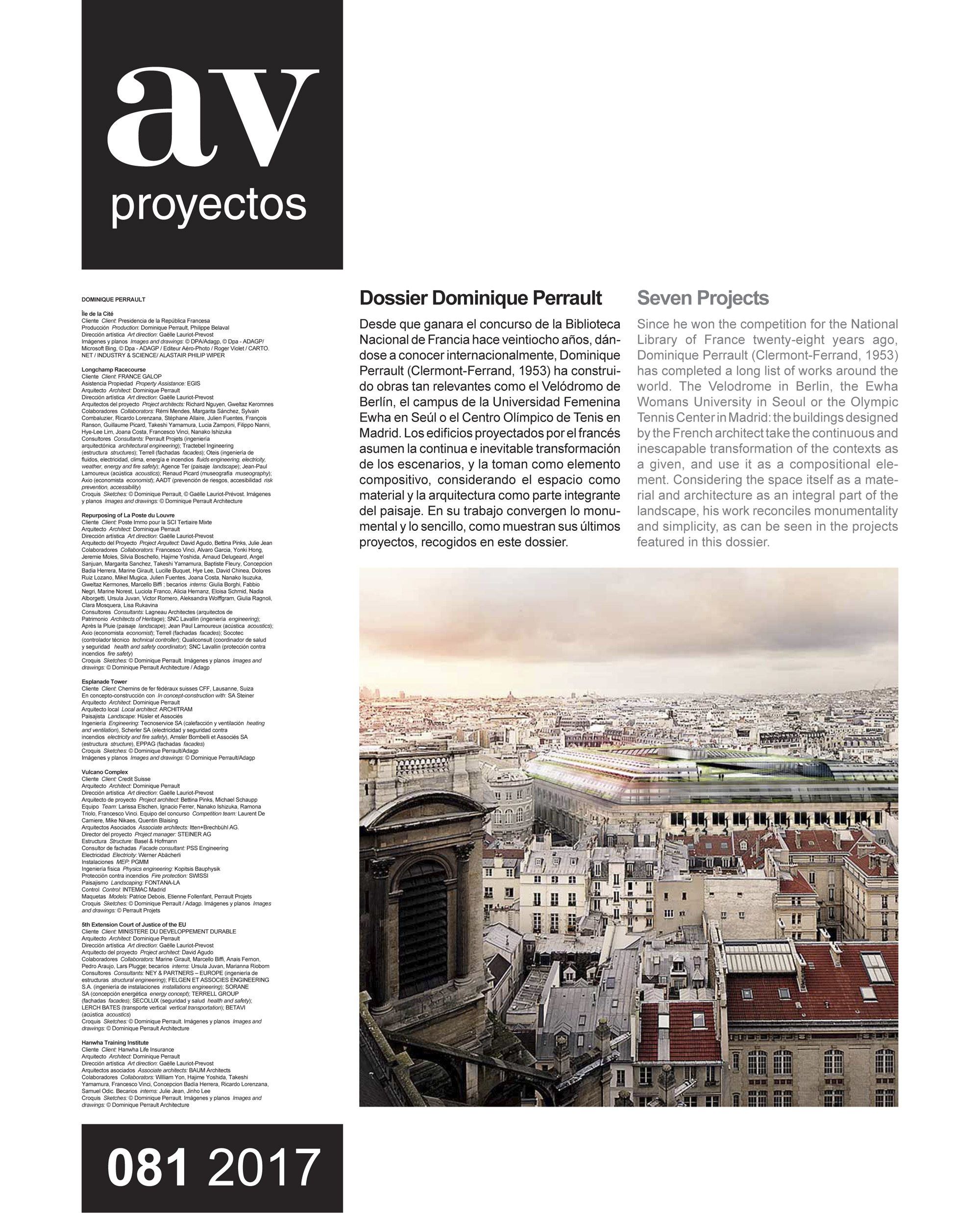 Dossier Dominique Perrault