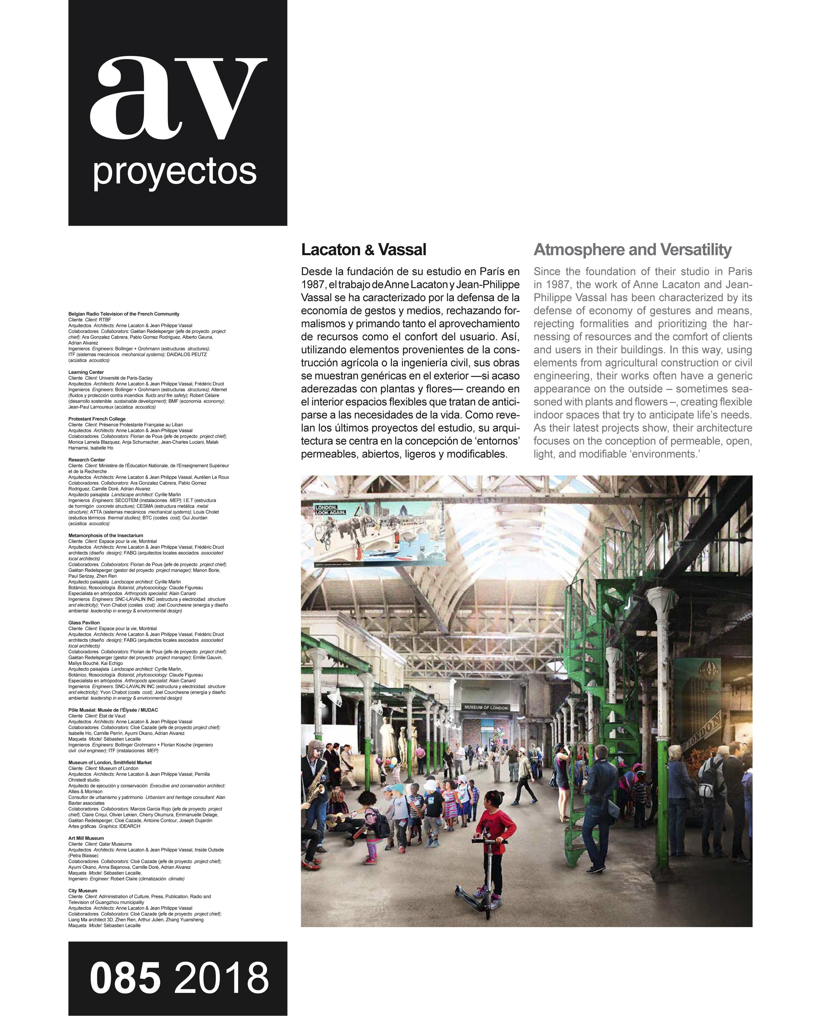 Dossier Lacaton & Vassal