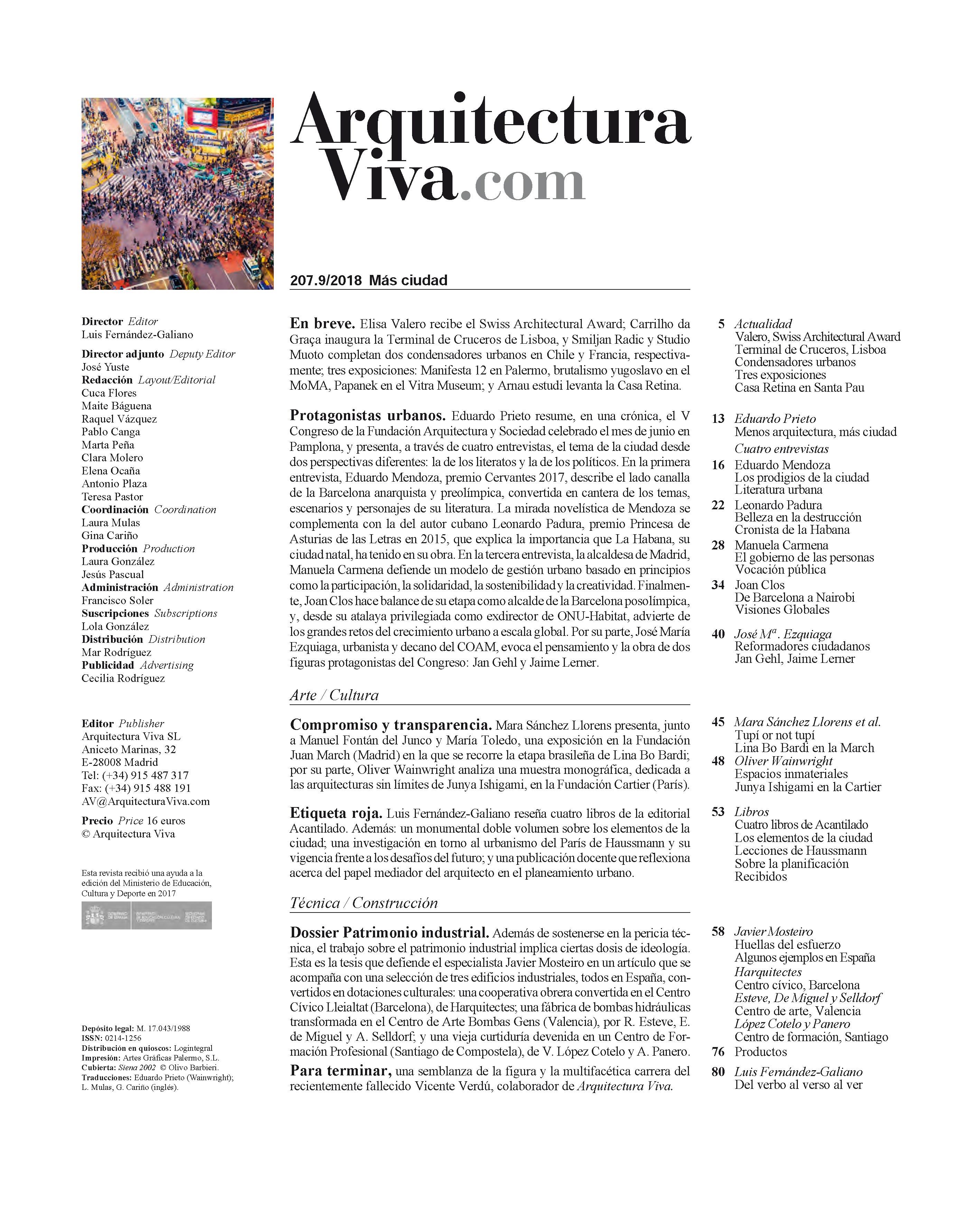 Arquitectura Viva 207