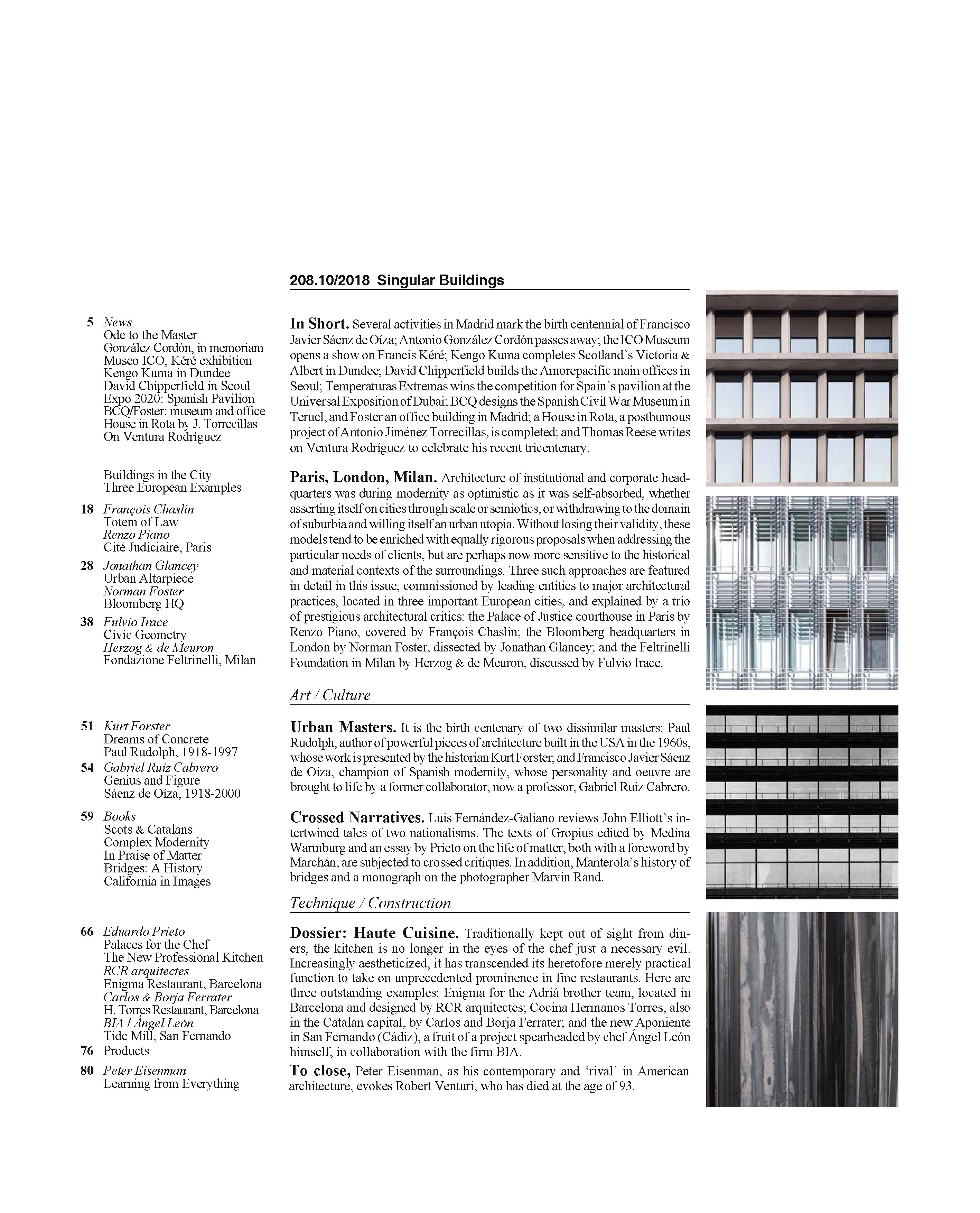 Singular Buildings