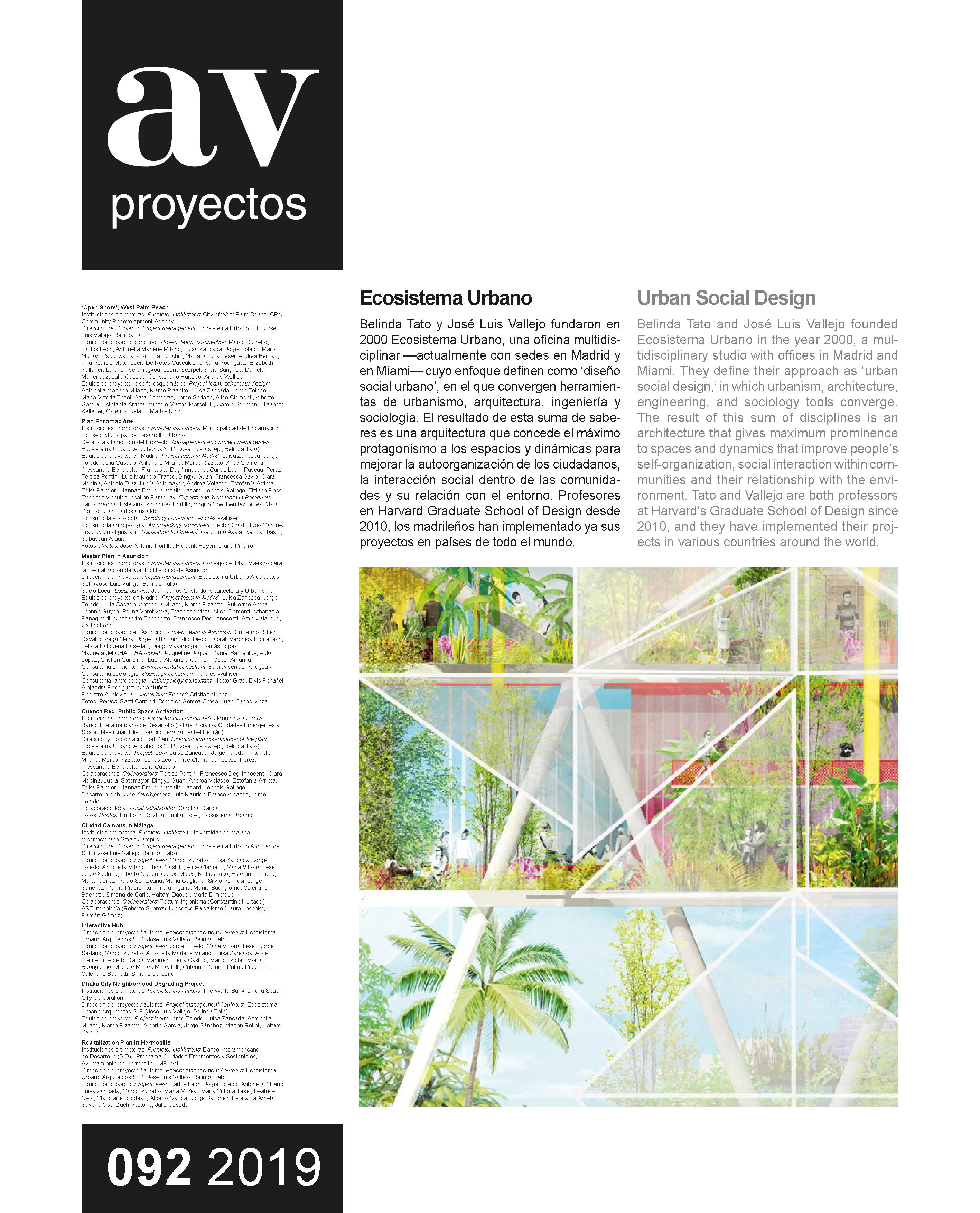 Dossier Ecosistema Urbano
