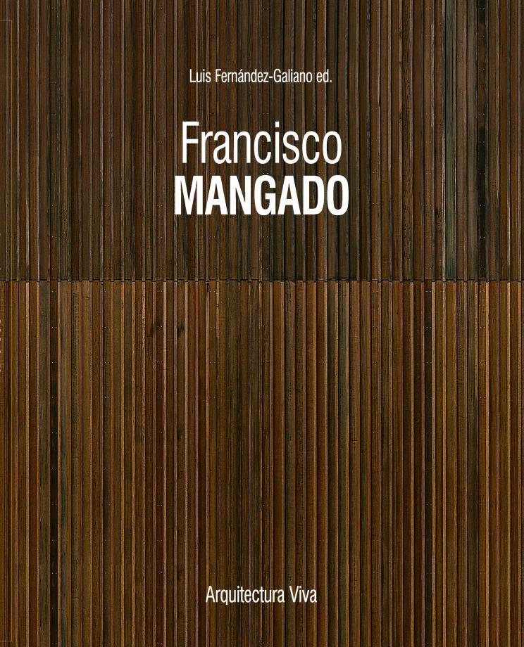 Portada del libro Francisco Mangado