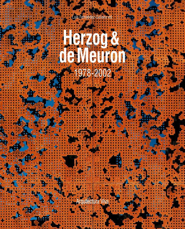 Portada del libro Herzog & de Meuron, 1978-2002