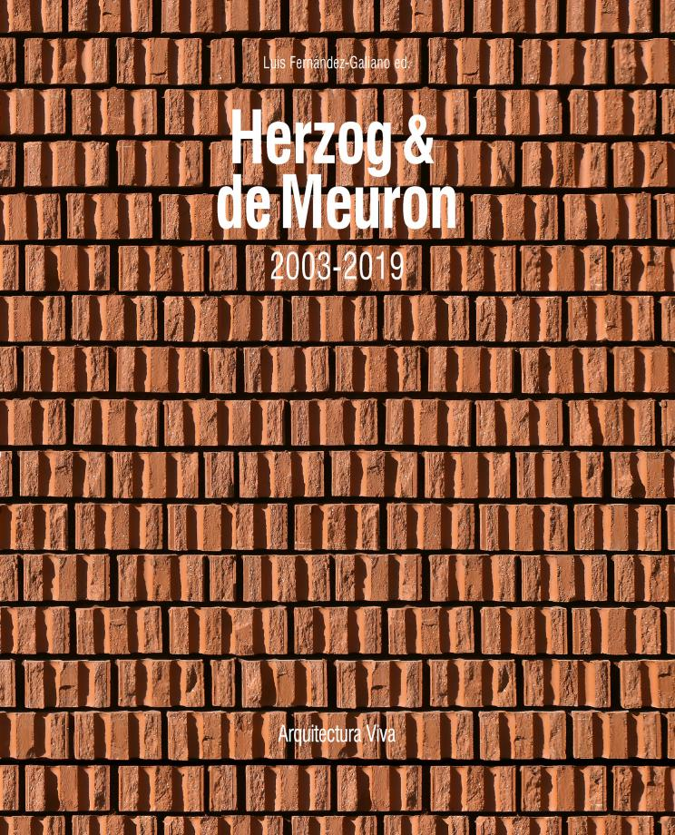 Portada del libro Herzog & de Meuron, 2003-2019