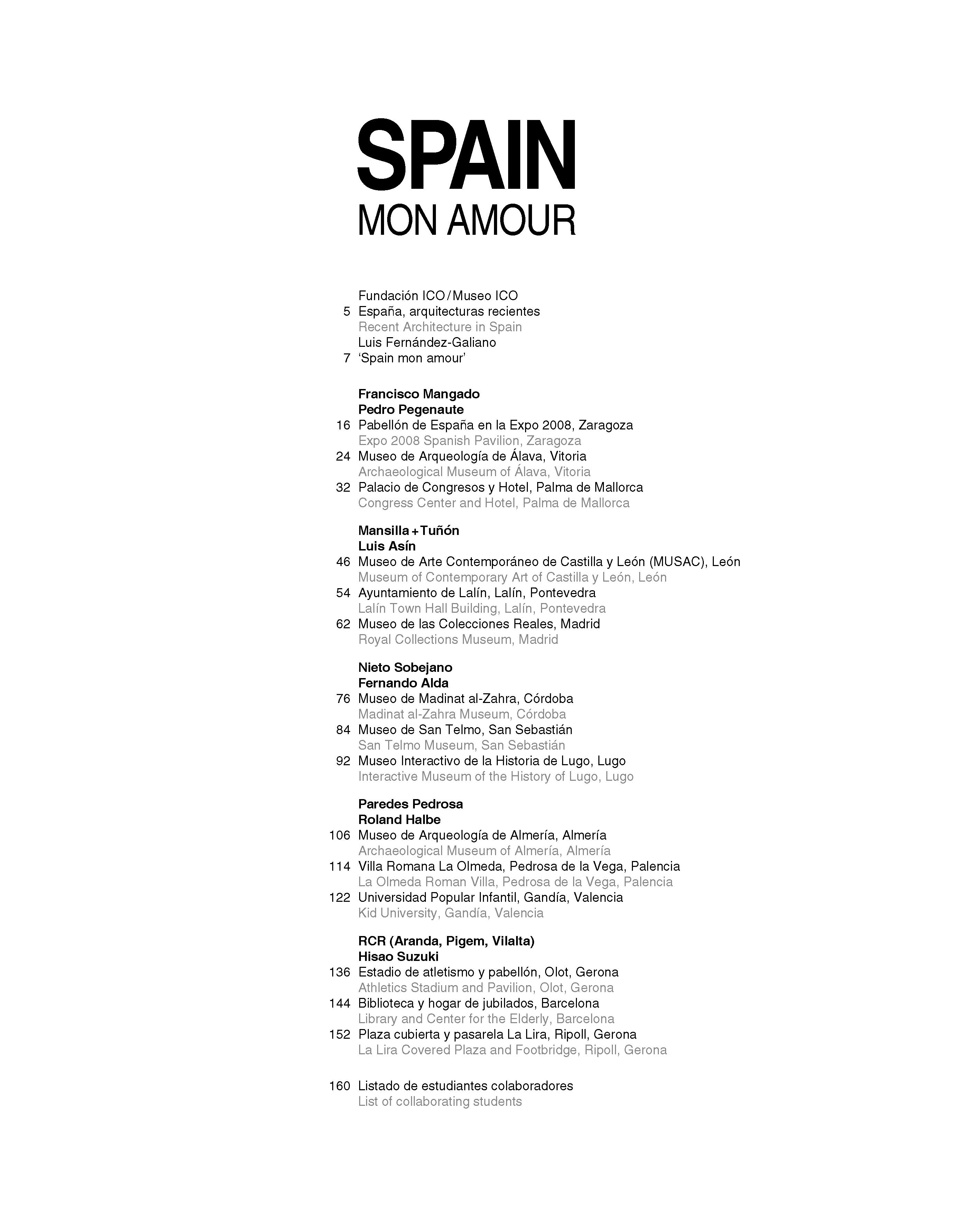 Spain mon amour